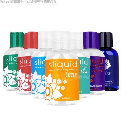 美國Sliquid Naturals Sizzle 摩擦升溫潤滑液 125ml