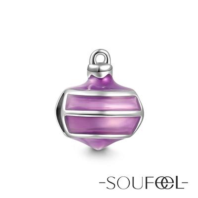 SOUFEEL索菲爾 925純銀珠飾 聖誕掛飾 串珠