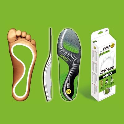 SIDAS 3feet 頂級運動鞋墊(舒適緩震、穩定支撐) - 中足弓適用