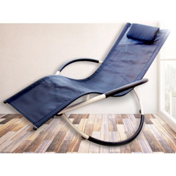 Conalife 時尚可折疊居家戶外休閒搖搖椅