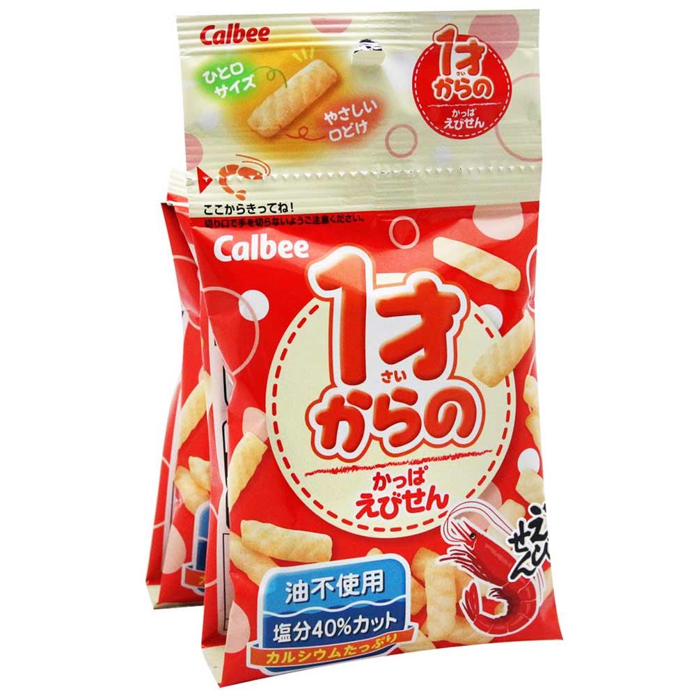 calbee卡樂比 蝦風味餅乾(32g)