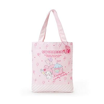 Sanrio 美樂蒂草莓遊園地系列帆布手提袋