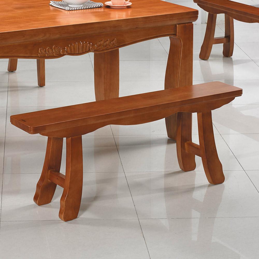 H&D 實木長板凳 (寬120X深20X高47cm)