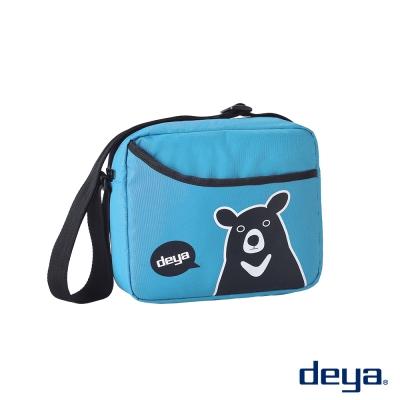 deya熊側背包-水鳥藍