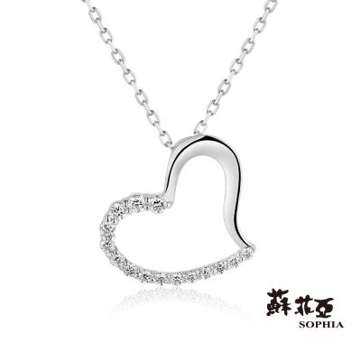 蘇菲亞SOPHIA 鑽石項鍊-戴瑞莎14K鑽鍊(共2色)