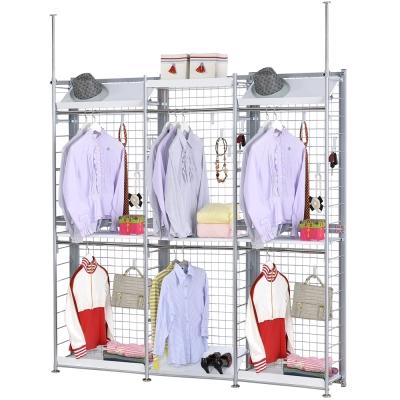 巴塞隆納─K333型伸縮屏風衣櫥架展示架置物架