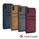 Twelve South Relaxed iPhone X 卡夾皮革保護背蓋