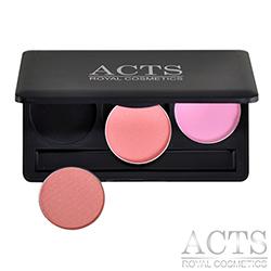 ACTS-維詩彩妝-3色DIY腮紅修容盤-自行選色