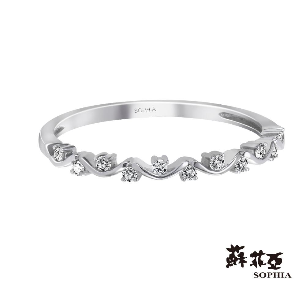 蘇菲亞SOPHIA - 克萊爾鑽石線戒