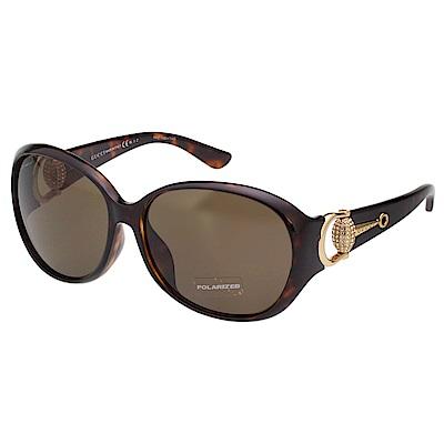 GUCCI 水鑽 偏光 太陽眼鏡 琥珀色 GG3726NFS