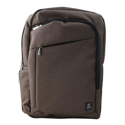 US DUCK都會型電腦後背包-咖啡色5-UN-C6005-2