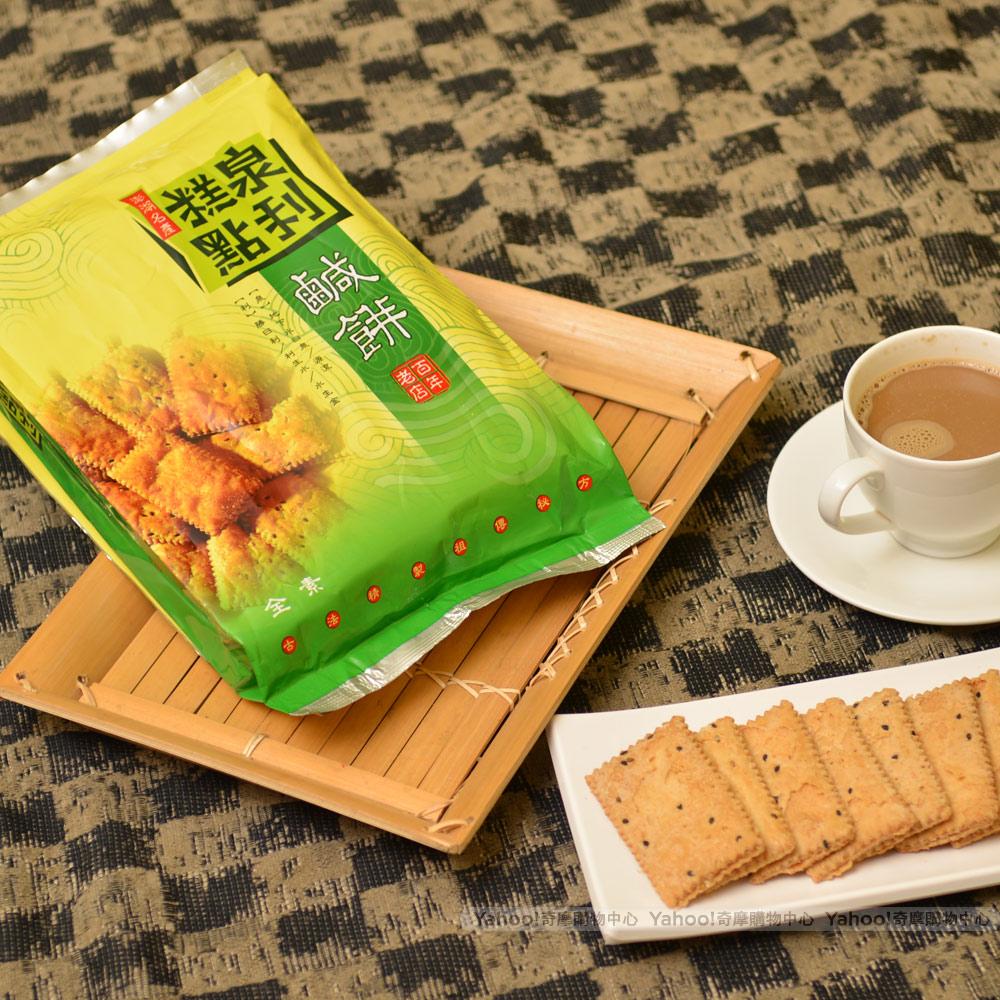 得福泉利 澎湖名產素食鹹餅 (600gX6入)