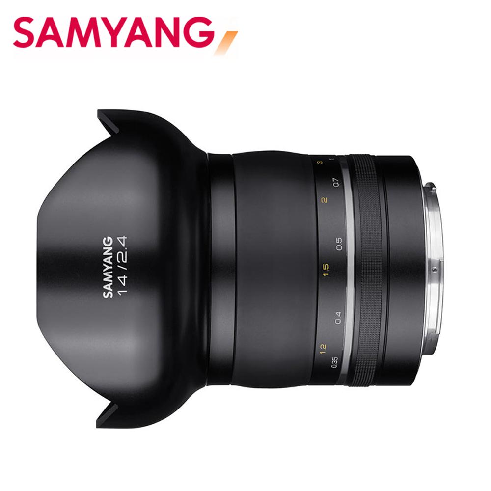 SAMYANG XP Premium 14mm F2.4大光圈FOR NIKON(公司貨)