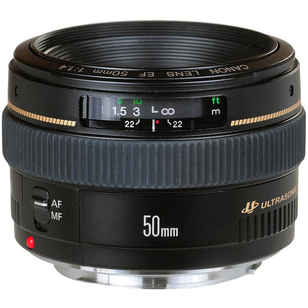 Canon EF 50mm F1.4 USM 大光圈標準鏡頭(公司貨)UV清潔組