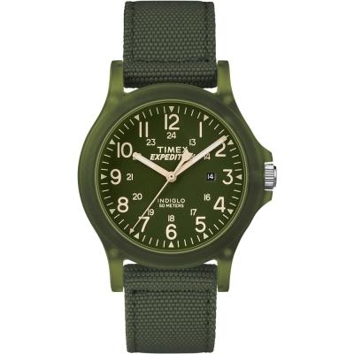 TIMEX天美時遠征系列探險手錶-綠36mm