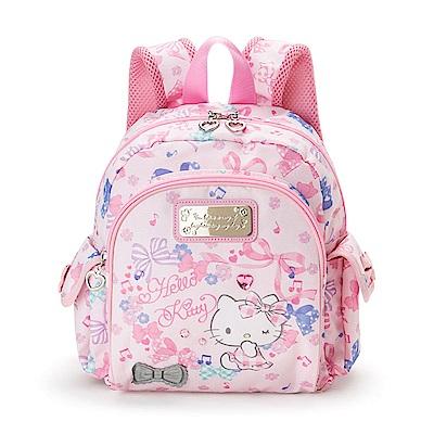 Sanrio HELLO KITTY兒童後背包S(繽紛緞帶寶石)