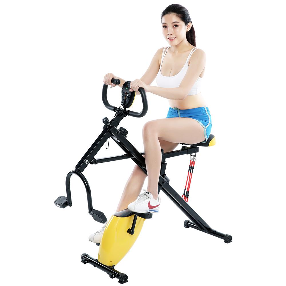 健身大師-新一代磁控健身騎馬健腹兩用機-健腹機/健身車