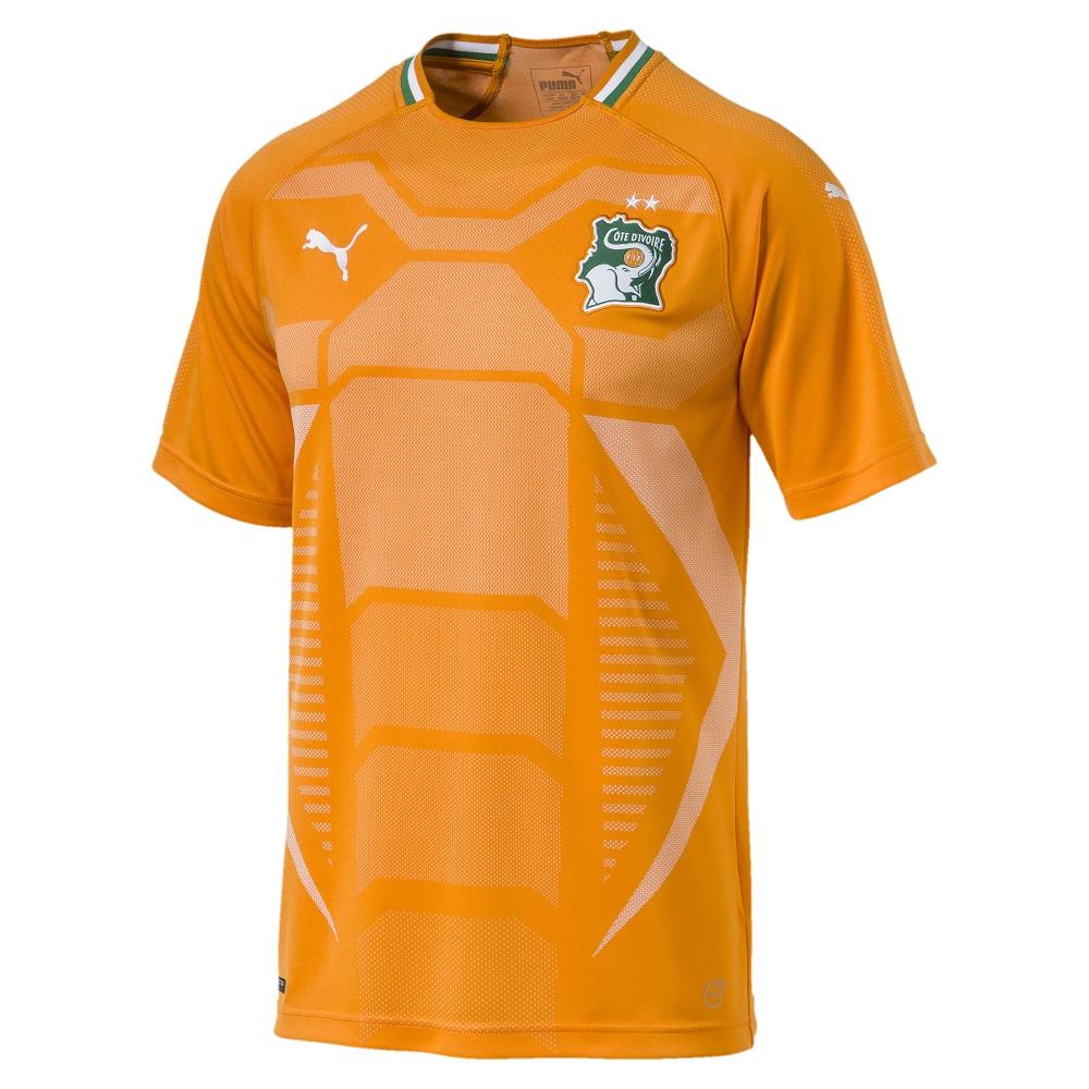 PUMA-足球系列國家概念短袖球衣-象牙海岸(M)