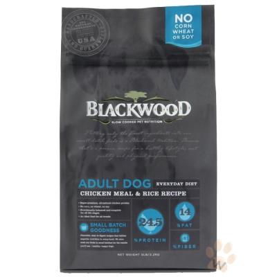 柏萊富blackwood 特調成犬活力配方(雞肉+糙米)5磅