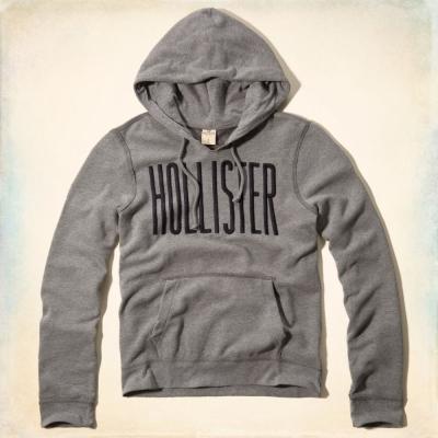 Hollister HCO 長袖 帽T 灰色 0168