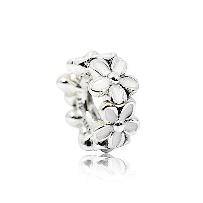 Pandora 潘朵拉 白色珍愛雛菊 純銀墜飾 串珠