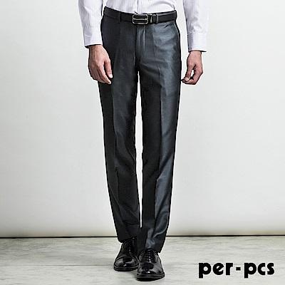 per-pcs 簡約紳士素面合身平面西褲 深灰(713111)