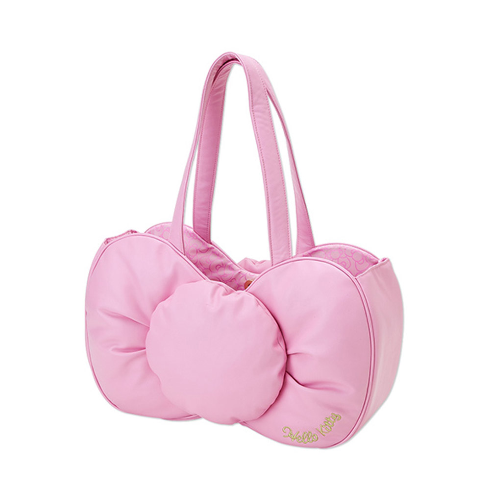 《Sanrio》HELLO KITTY就愛蝴蝶結系列手提袋