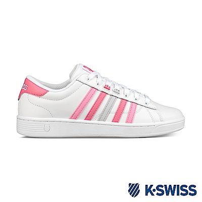 K-swiss Hoke CMF 休閒運動鞋-女-白/粉紅