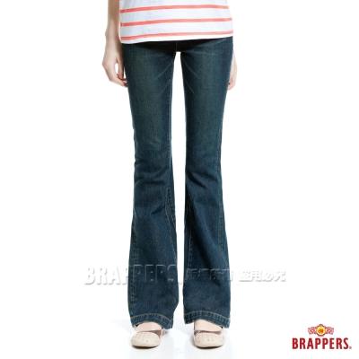 BRAPPERS 女款 新美腳二代系列-女用小喇叭褲-藍
