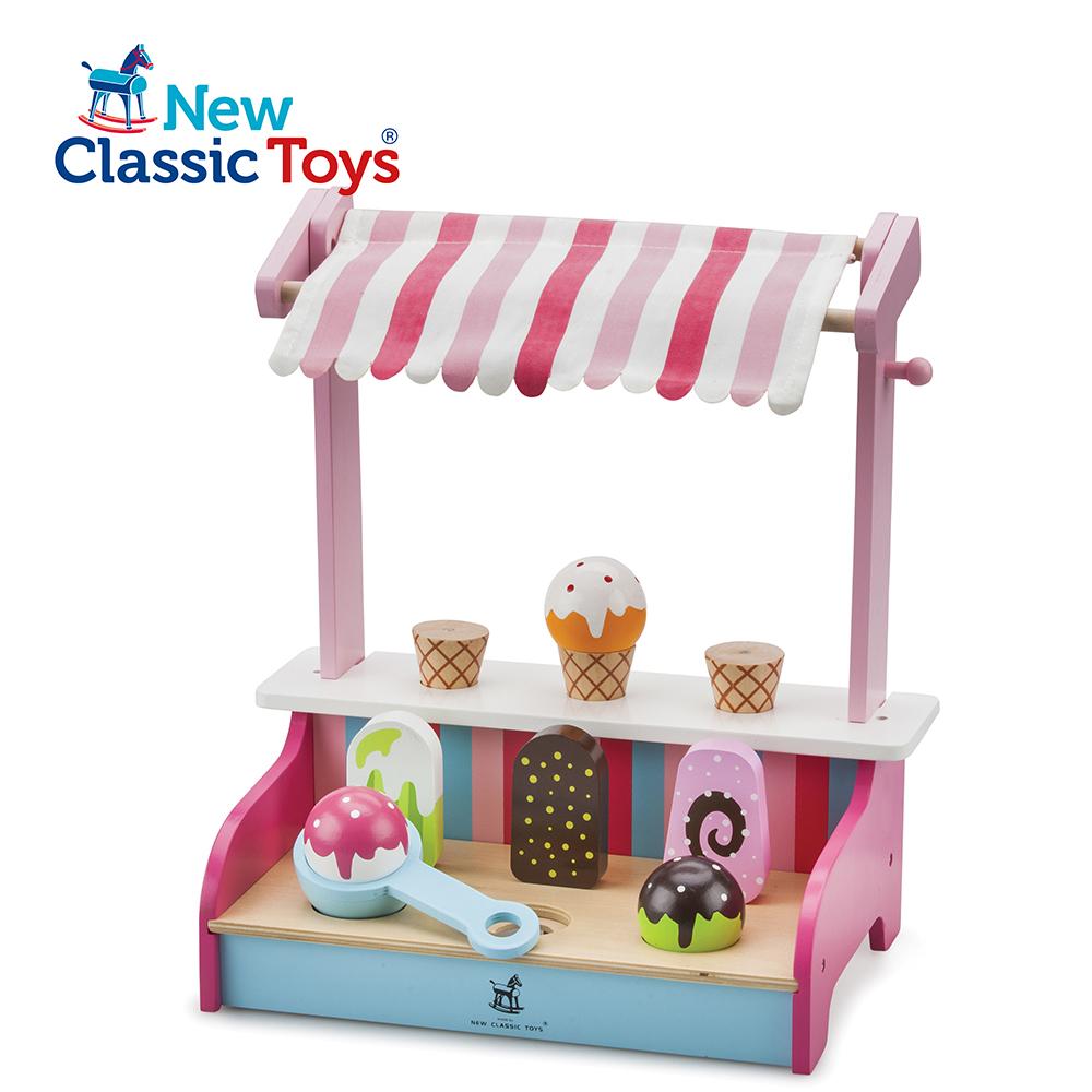 荷蘭New Classic Toys繽紛冰淇淋小舖11073