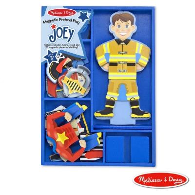 美國瑪莉莎 Melissa & Doug-磁力換裝娃娃 - 變身喬伊