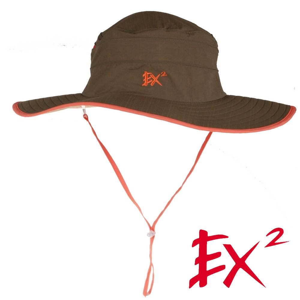 德國 EX2 防曬大圓帽(深橄欖)