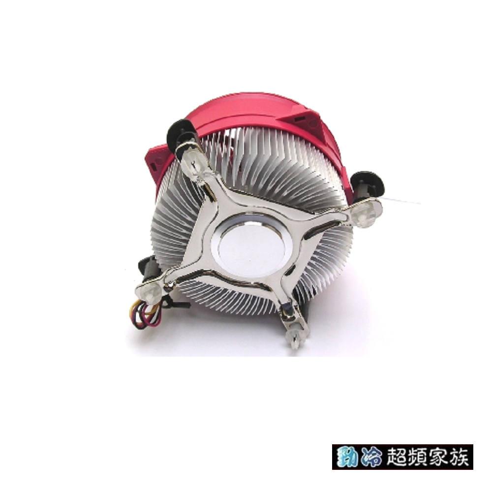 EVERCOOL 超靜音鋁擠LGA775散熱器(PT08-9525EA)