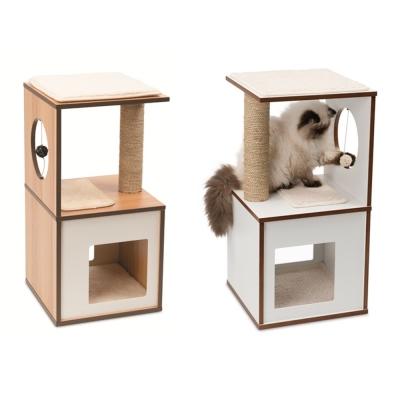 赫根Hagen Vesper貓用實木家具《遊戲包廂》