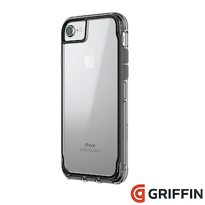 Griffin Survivor Clear iPhone 8/7 軍規防摔殼