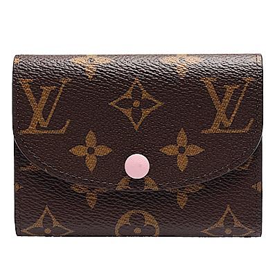 LOUIS VUITTON M62361 ROSALIE Monogram花紋信封式零錢包