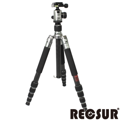 RECSUR 銳攝 RS-3255C+VQ-20 五節反折碳纖維腳架-羅馬鈦