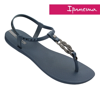 IPANEMA 永恆之戀人字涼鞋-藍色