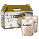 韓味不二 高麗人蔘雞粥禮盒(280gx10包)(春節禮盒)