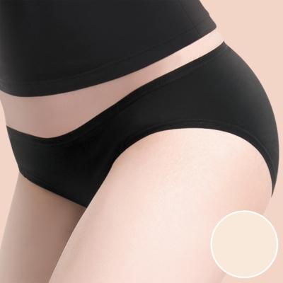莎薇 MODAL-防臭抗菌-健康褲 -M-LL 低腰三角褲(蜜桃膚)