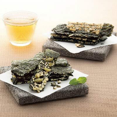 秋之宴-艾索企業-玄米南瓜子-杏仁海苔酥-10包入-盒