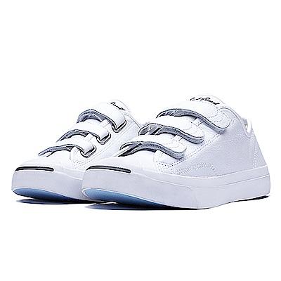 CONVERSE-男女休閒鞋160209C-白