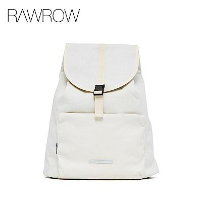RAWROW-漫遊系列-13吋簡約束口後背包-亮白-RBP232WH