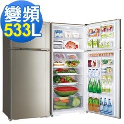 三洋 533L 變頻雙門電冰箱 SR-A533