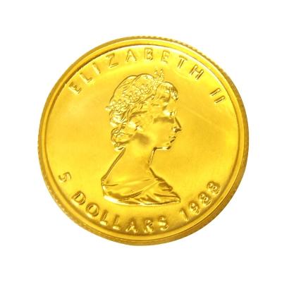 楓葉金幣-加拿大1988年楓葉金幣 (1/10盎司)