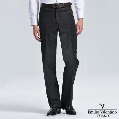 Emilio Valentino 范倫提諾仿牛仔休閒褲-黑