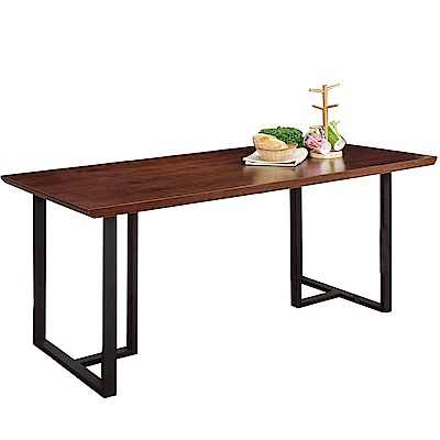 AT HOME-韋伯5.8尺胡桃餐桌 175x85x75cm