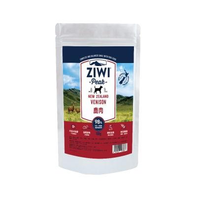 ZiwiPeak巔峰 98%鮮肉狗糧*鹿肉*100G