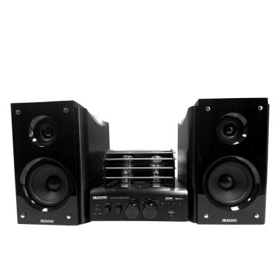 【宇晨MUSONIC】黑優雅前級真空管藍芽/MP3/USB播放音響組 MU-3100