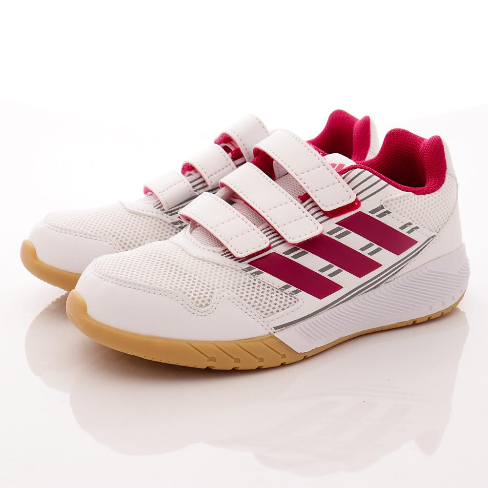 adidas童鞋-透氣運動鞋款-NI420白紅(中大童段)HN